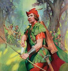 Robin Hood of Sherwood (Original) (Signed) art by James McConnell