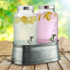 Artland Masonware Farmhouse Beverage Dispenser with Stand | from hayneedle.com