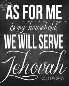 As for me and my household we will serve by PrintablesMothership