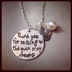 Perfect sentimental gift for mother-in-law  I want to do something like this because its so true!