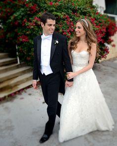 Gorgeous Gown Monique Lhuillier Bride Miami from Chic Parisien - cpbride.com/blog