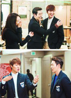 "WooBin, ShinHye, Minho ♡ #Kdrama - ""HEIRS"" / ""THE INHERITORS"""