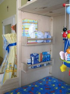 10 Ways To Use IKEA's Bekvam Spice Racks All Over the House - another great idea for a kids room!