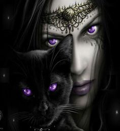 Witch and her familiar