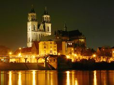 Magdeburg - my home in Germany!