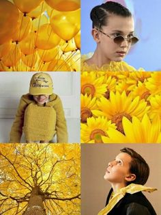 Millie Bobby Brown wallpaper yellow •Made by Zoomer Tozier•