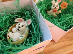 DIY Osternester Papier -  selbstgemachte Osternester #diy #basteln Teddy Bear, Toys, Animals, Paper, Easter Bunny, Easter Activities, Homemade, Animais, Animales
