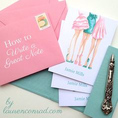 http://laurenconrad.com/blog/2014/07/ladylike-laws-letter-writing-101/