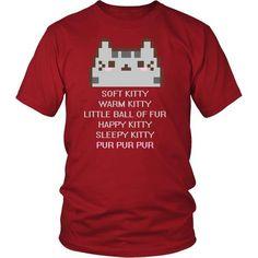T-shirt - The Big Bang Theory Soft Kitty Warm Kitty Pur Pur Pur TV & Movies T-shirt