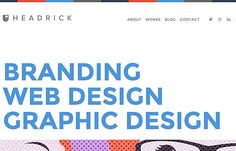 Tony Headrick | Website Showcase | The Design Inspiration