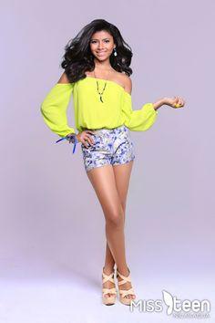 Ella es Katherine Juárez, candidata a #MissTeenNica 2015. Tiene 16 años y representa a León. ¡Clic para conocer más de ella!