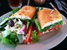 The BLT & Brie Sandwich at Chatter's Cafe & Bistro  #Houston #Texas #Food #Restaurants #AdventuresInANewishCity