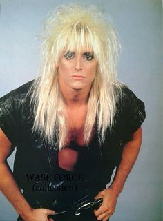 Mr Johnny Rod in W.A.S.P. Inside The Electric Circus era #JohnnyRod #wasp