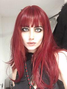 Dye My Hair, New Hair, Hair Dye Colors, Hair Color, Red Hair Inspo, Aesthetic Hair, Grunge Hair, Pretty Hairstyles, Hair Looks