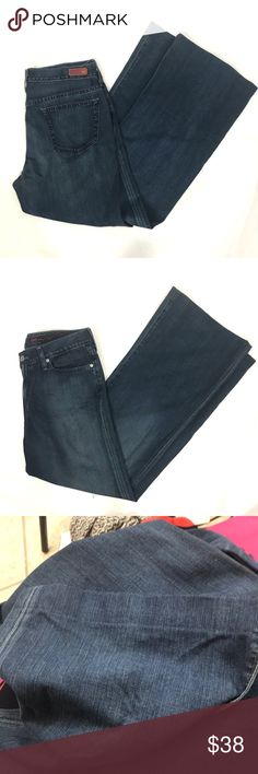 "AG Adriano Goldschmted The Glisten Bell Bottoms Good used condition. Inseam is 31"" Ag Adriano Goldschmied Jeans Flare & Wide Leg"