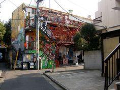 Underground art gallery, Tokyo