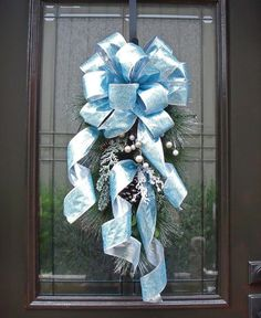 Christmas Swag Winter Swag Christmas Wreath Door by LuxeWreaths, $75.00