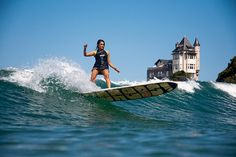 Biarritz, France - Capitale du surf en Europe. http://www.fasthotel.com/aquitaine/hotel-biarritz