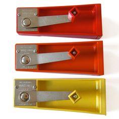 Sigvard bernadotte; Plastic and Metal 'Nya Clara' Can Openers for Nils Johan, 1963.