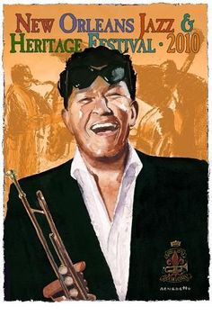 Jazz Fest 2010--A Portrait of Louis Prima by Anthony Benedetto (Tony Bennett) Yes! That Tony Bennet.