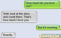 kids gone wrong text messages | How Much Do You Love Me