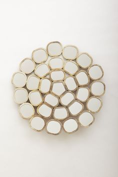 Honeycomb Ring Mirror - Anthropologie.com