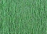 10/0 Seed Beads Silver Lined Pale Green