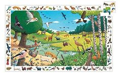 Djeco A Walk in the Forest Observation Puzzle (54 pc)