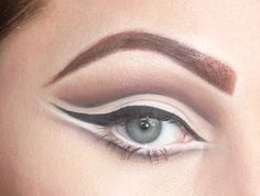 50's/60's Eyes     I am in love with make-up from the late 1950's and early 1960's. The make-up was all about creating the illusion of bigg...