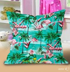 New Hot Flamingos Pattern Kate Spade Pillow Cases