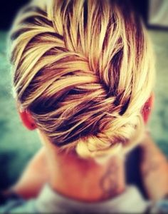 Love the fish tail braid.