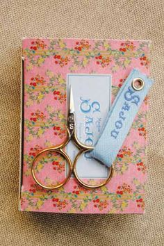 Sajou Little Monster embroidery scissors. I have scissors I love and even a stunning Sajou embroidery knife, but I still lust after these.