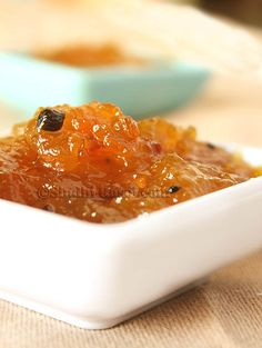 Spiced up Mango jam Recipe Chutney Recipes, Jam Recipes, Cooking Recipes, Curry Recipes, Vegetarian Recipes, Recipies, Mango Recipes Indian, Indian Food Recipes, Mango Jam