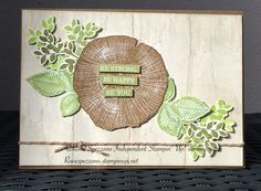 StampinUp! Rooted i