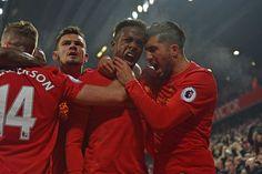 PL Liverpool vs Sunderland 2-0 - Lovren Origi Can