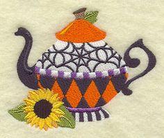 Halloween Teapot