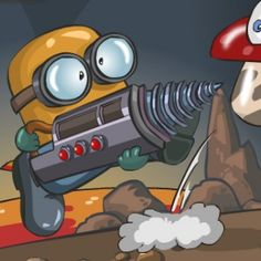 We invite all the players who love or at least are interesting in mining minerals and exotic materials, that are buried in the depth of the Earth. This time, minion will do your dirty work, just tell him where and what to drill.  Diggy has been added to our website. To play the game follow this link:  https://www.gungameshub.com/game/diggy/