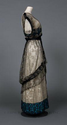 Tunic dress, c. 1912, Fashion Institute of Design & Merchandising Museum.