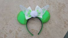 Tinkerbell Inspired Mouse Ears by DoodadsByDesign on Etsy