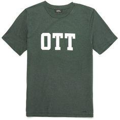 A.P.C. OTT Slim-Fit Printed Cotton-Jersey T-Shirt