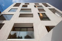 outer concrete shell covers amsterdam 169 apartments by JSa in mexico - designboom | architecture