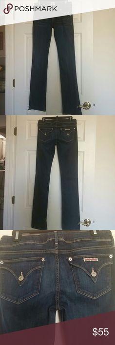 "Selling this Hudson ""Beth"" baby boot cut jeans Sz 28 LIKE NEW!! on Poshmark! My username is: lbeane. #shopmycloset #poshmark #fashion #shopping #style #forsale #Hudson Jeans #Denim"
