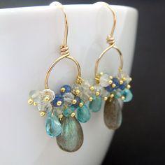 Labradorite Sapphires Aquamarine Apatite