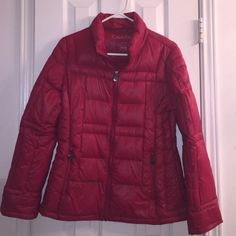 Spotted while shopping on Poshmark: NWOT Calvin Klein Packable Light Down Puffer Coat! #poshmark #fashion #shopping #style #Calvin Klein #Jackets & Blazers