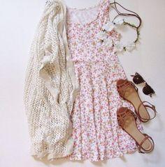dress floral dress floral skater dress flowered ariana grandes style short dress