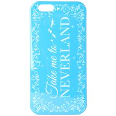 Disney Peter Pan Take Me To Neverland iPhone 6 Case ($10) ❤ liked on Polyvore featuring accessories, tech accessories, phone cases, phone, disney, peter pan and black