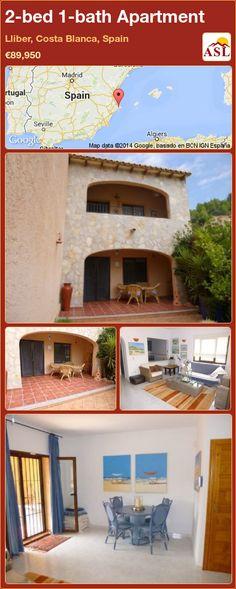 2-bed 1-bath Apartment in Lliber, Costa Blanca, Spain ►€89,950 #PropertyForSaleInSpain