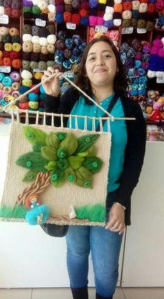 Tapestry Weaving, Loom Weaving, Colchas Quilt, Quilts, Africa Art, Weaving Techniques, Felt Art, Applique Designs, Needle Felting