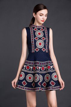 25 Summer Dresses That Would Make You Look Cool And Stay Relaxed - Trend To Wear Ethnic Fashion, Womens Fashion, Style Personnel, Moda Casual, Short Dresses, Summer Dresses, Embroidery Dress, Diy Embroidered Dress, Lovely Dresses