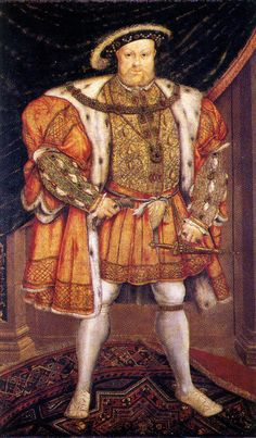 King Henry VIII, after Holbein's Whitehall mural. Parham Park.